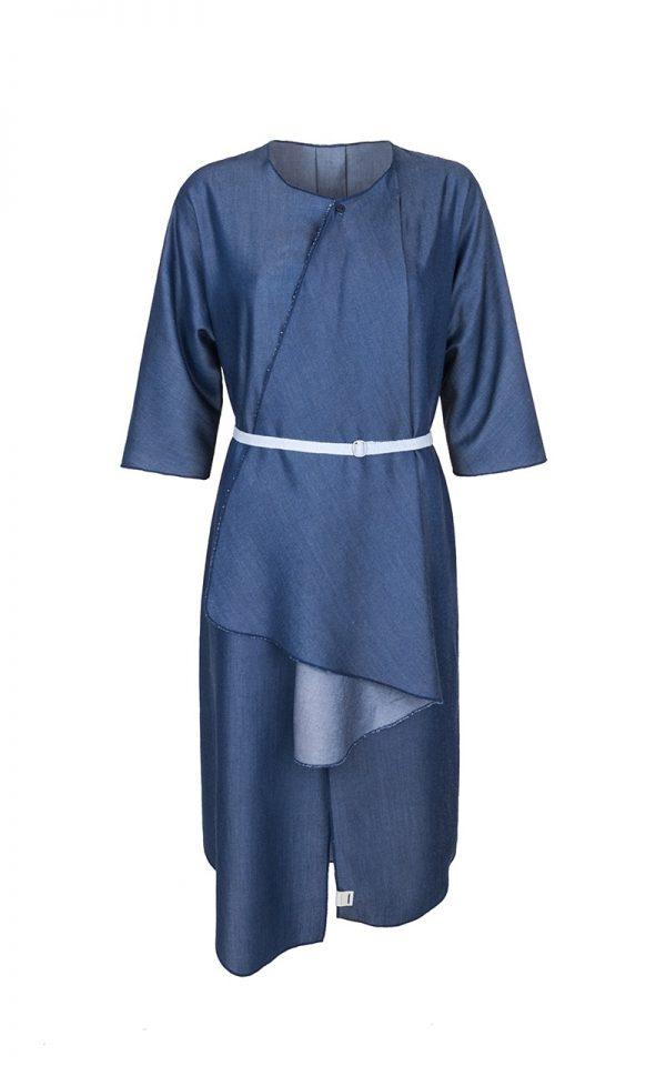 CLOUD_DS069.IND-Quarry.Shirt Dress1