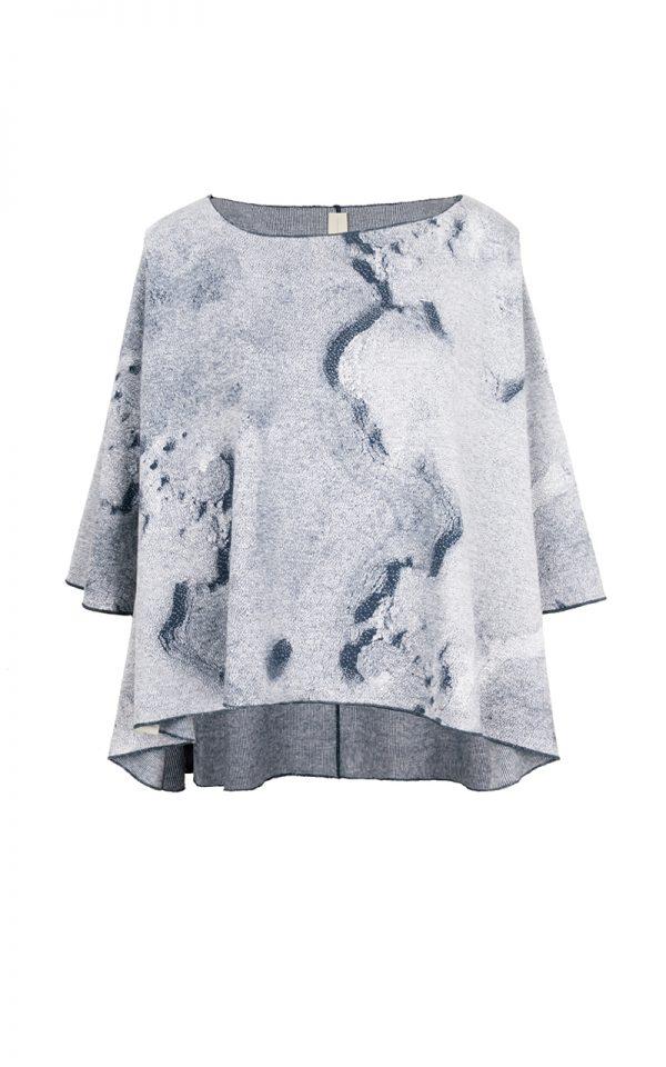 TS015.JWN – Dunes.Oversized T-shirt