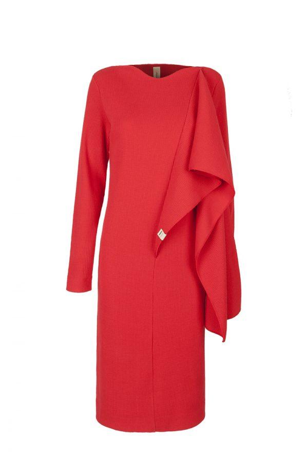24. CLOP scarf dress.Red low copy