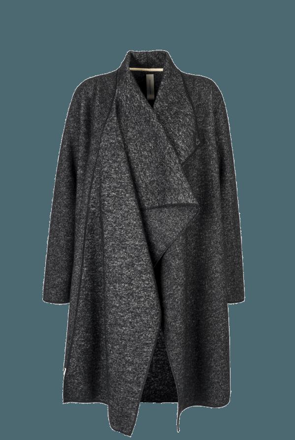 38. CLOP coat.Black low