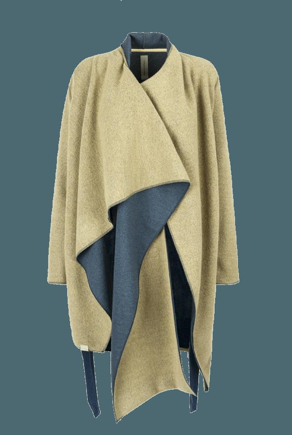 41. NOISE coat.Yellow low