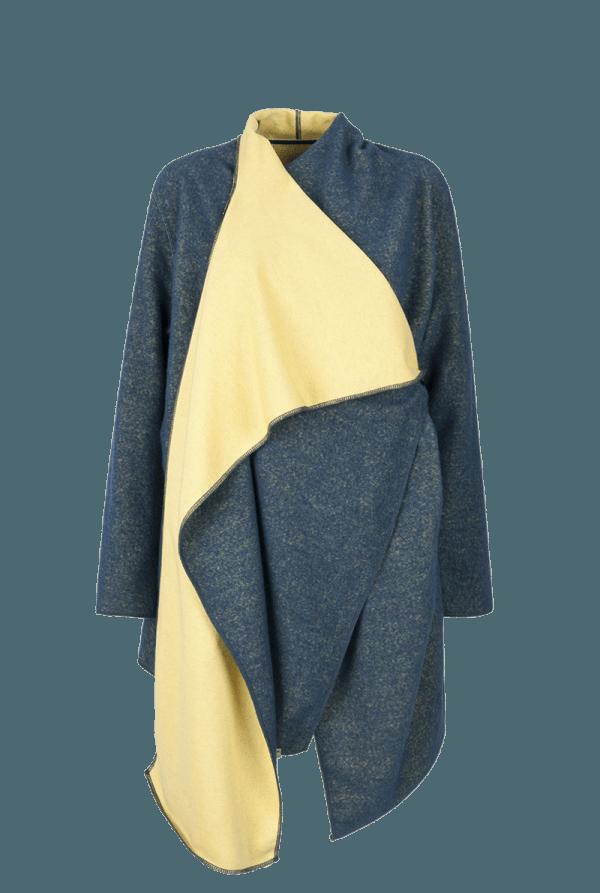 42. NOISE coat.Blue low