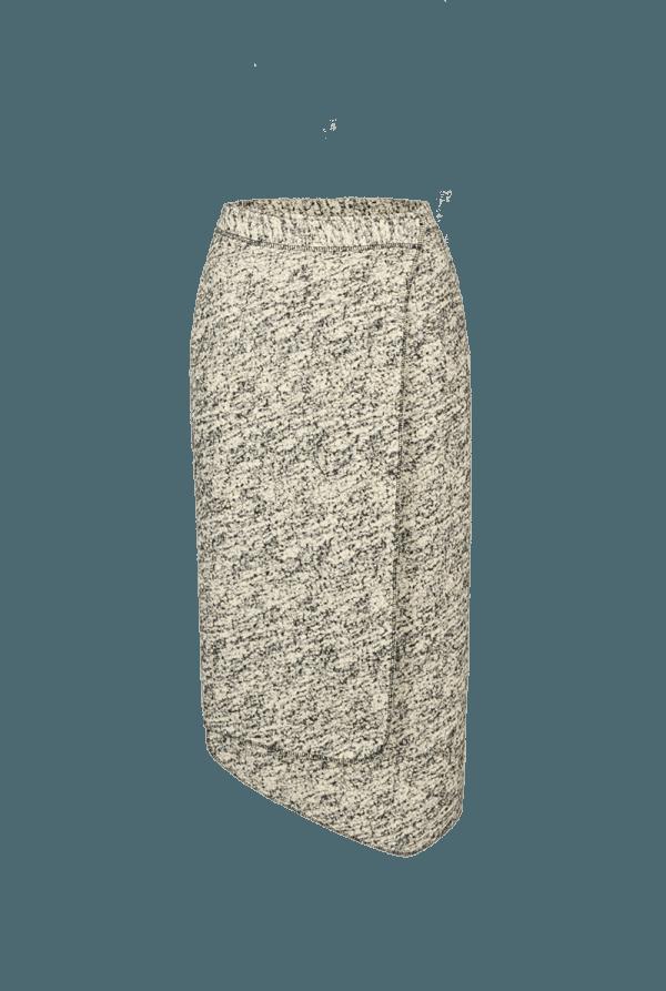 44. SOUND skirt.Sound low