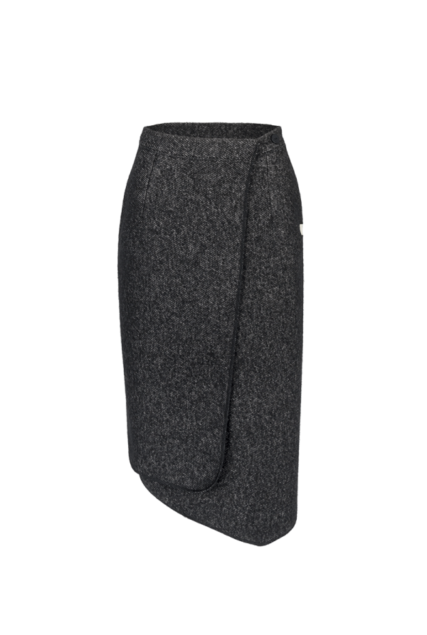 45. SOUND skirt.Black low
