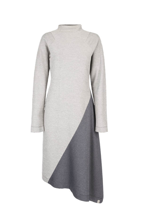 26. SQUARE dress.Blue low