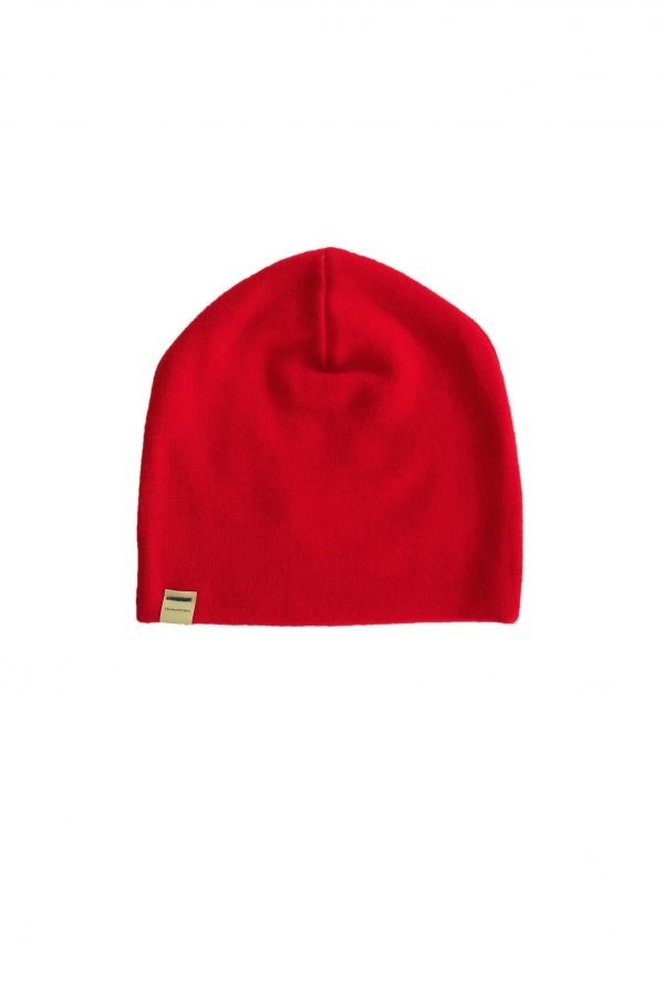 BASS cap wool red